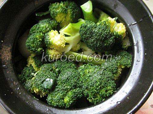 брокколи запеченные в духовке диетические рецепты