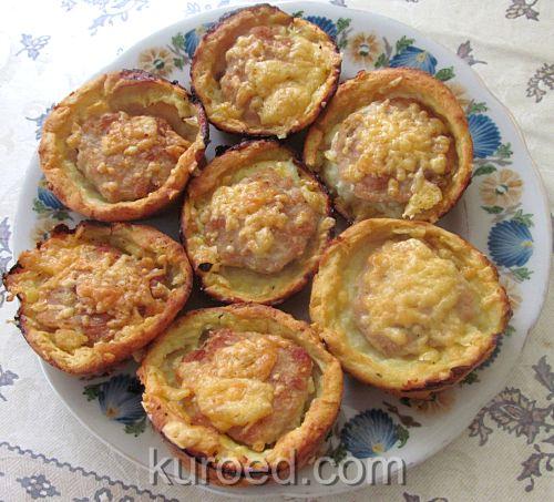 Говядина отбивная с помидором и сыром в духовке рецепт 197