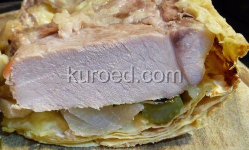 Мясо в лаваше