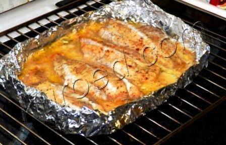 филе морского окуня в духовке рецепты с фото