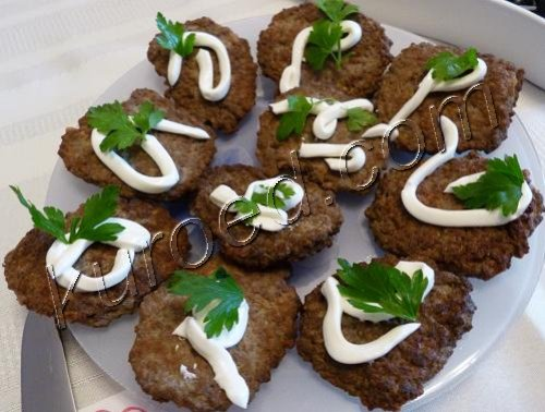 вкусный рецепт оладий из печени #11