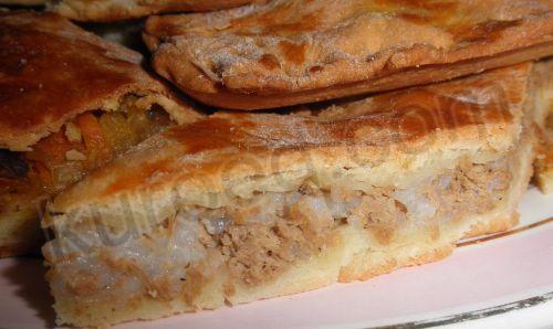 Мамин пирог с мясом