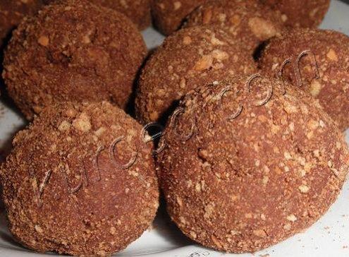 Колбаса шоколадная из печенья со 94