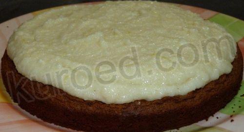 Торт птичье молоко пошаговое