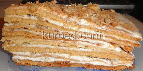 Торт Рыжик, срез