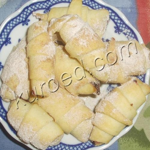 рогалики с орехами