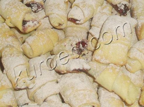 печенье с вареньем рулетики рецепты