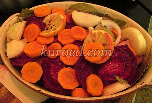 семга запеченная в духовке с овощами рецепты