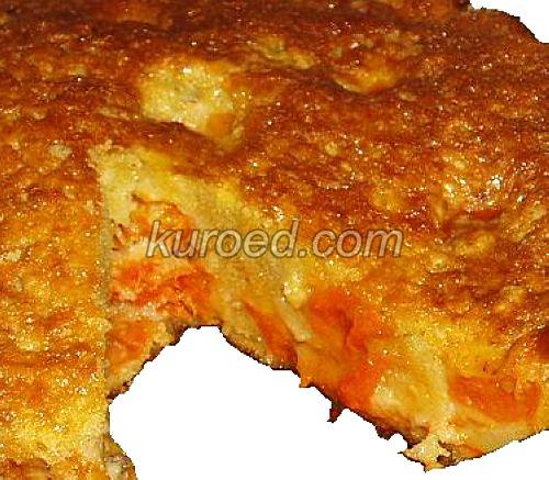 Сочный пирог с абрикосами