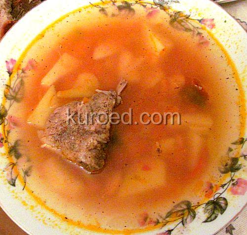 вкусный фасолевый суп из консервированной фасоли рецепт