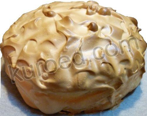 Торт-мороженое с шапочкой-безе