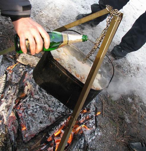 приготовление рыбы на костре рецепты