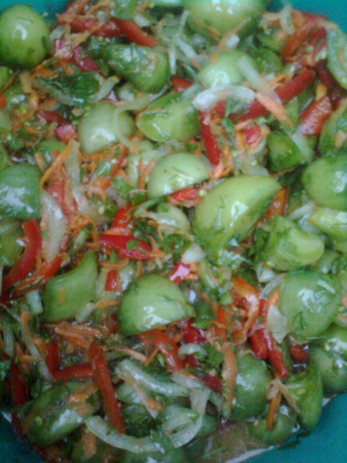 Салат с цветной капусты фото рецепт пошаговый