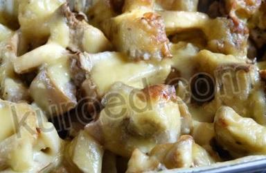 Мусс из баклажанов – кулинарный рецепт