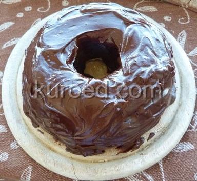 Творожно-банановый кекс