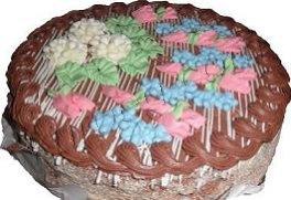Cекреты при выпечке коржей для Киевского торта