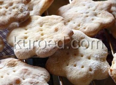 Галетное печенье на кефире