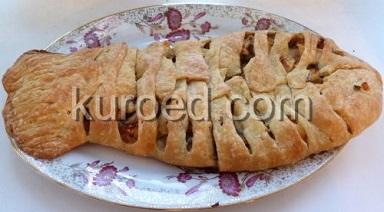 Пирог с треской рецепт