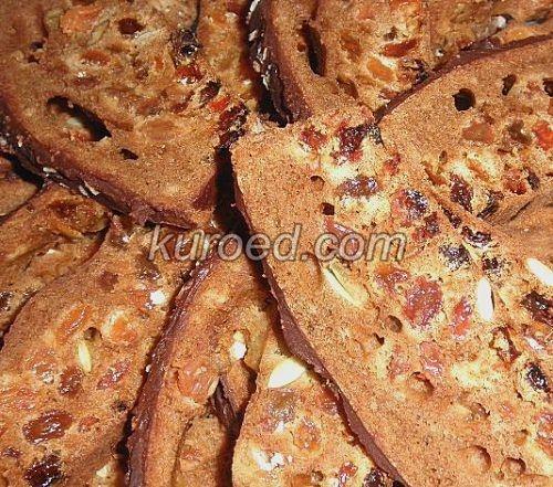 Легкий кекс с пряностями и изюмом