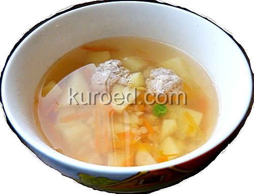 рецепт чечевичный суп с мясом