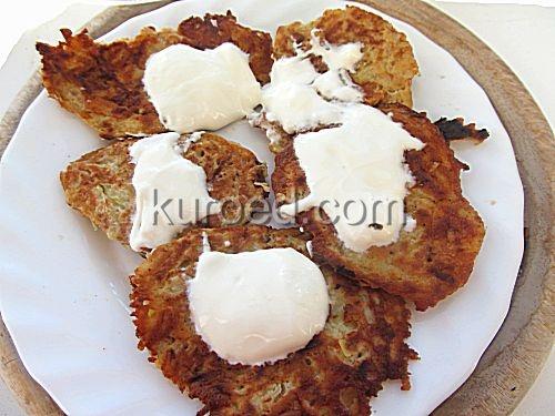 Постные кабачково-картофельные драники – кулинарный рецепт