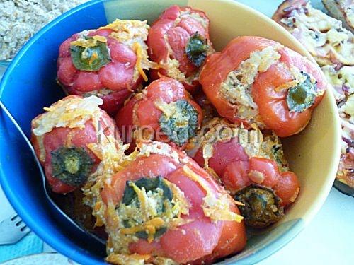 Фаршированные яйца, запеченные по-провански – кулинарный рецепт