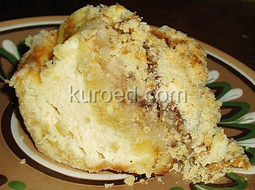 Королевская ватрушка с яблоками рецепты