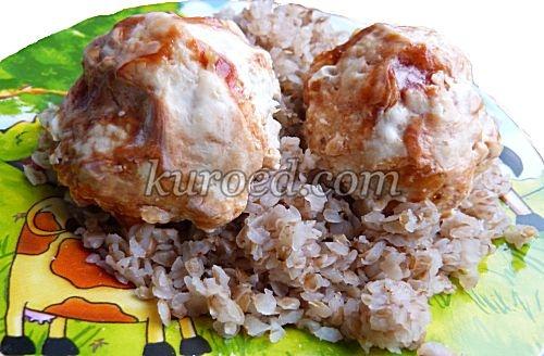 Куриные тефтели в соусе