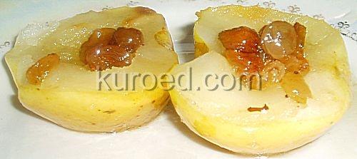 Печеные яблоки с карамелью
