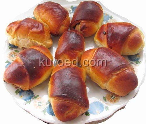 Пирожки с маком из кефирного дрожжевого теста