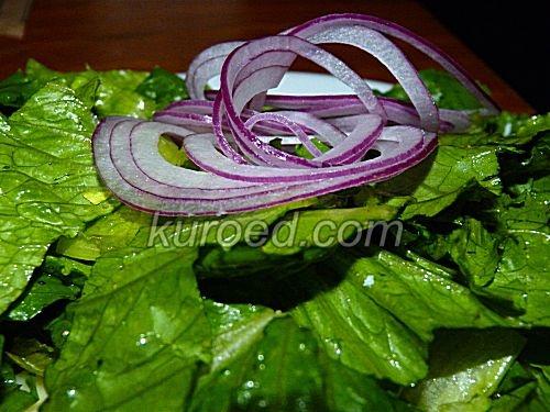 Салат из репчатого лука