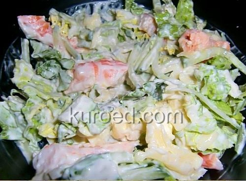 "Салат ""Капустный"" – кулинарный рецепт"