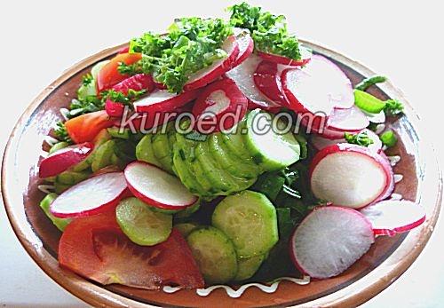 Салат Овощная шуба