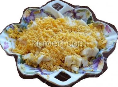 салат из лука яблок яиц и сыра
