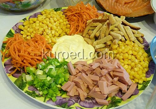 салат с языком рецепты с фото слоями