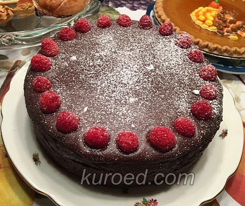 Торт Поцелуй негра со сгущенкой