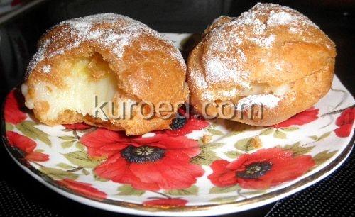Заварные пирожные